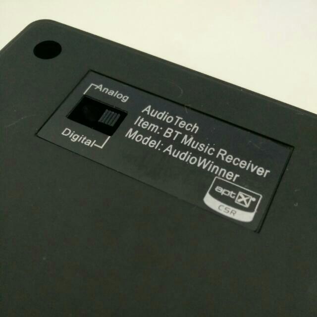 Bluetooth para enviar musica al ampli Aptx215