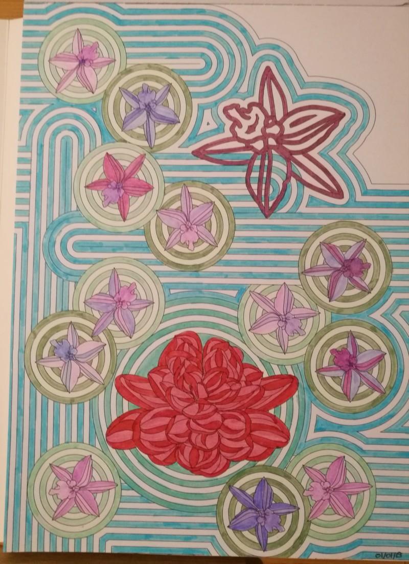 Les défis personnels de Chatbleu - Entamer chaque livre de coloriage - Page 2 20190112