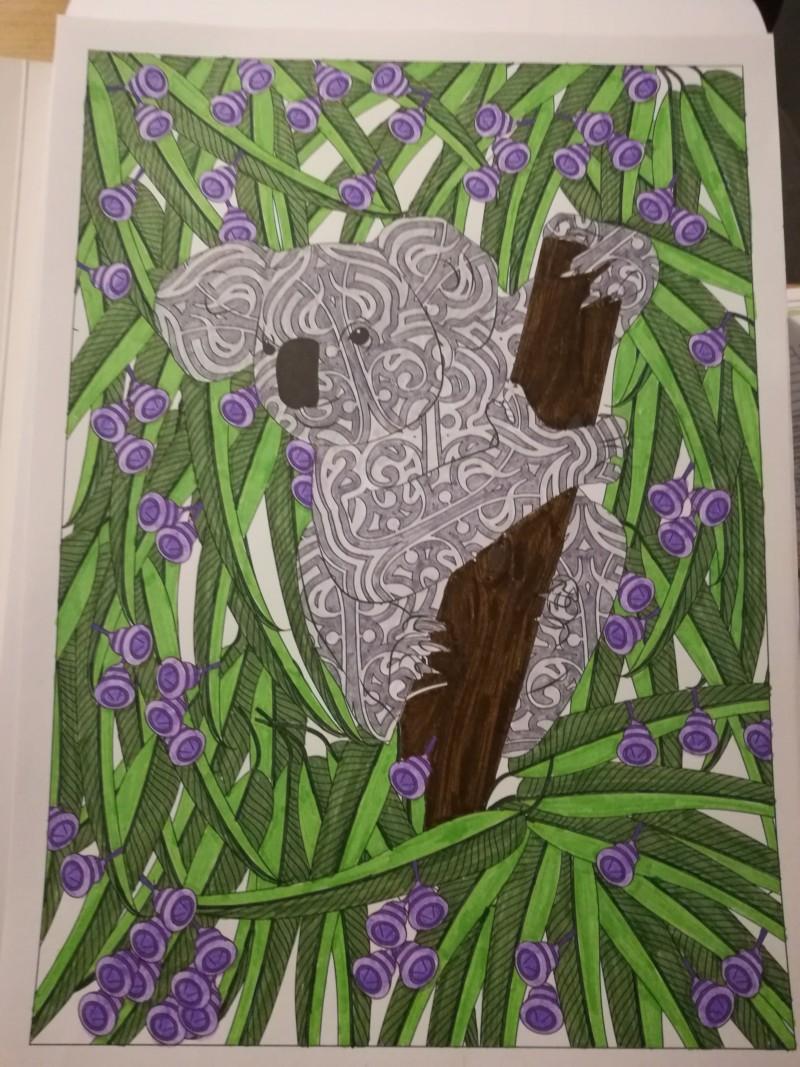 Les défis personnels de Chatbleu - Entamer chaque livre de coloriage - Page 2 20190113