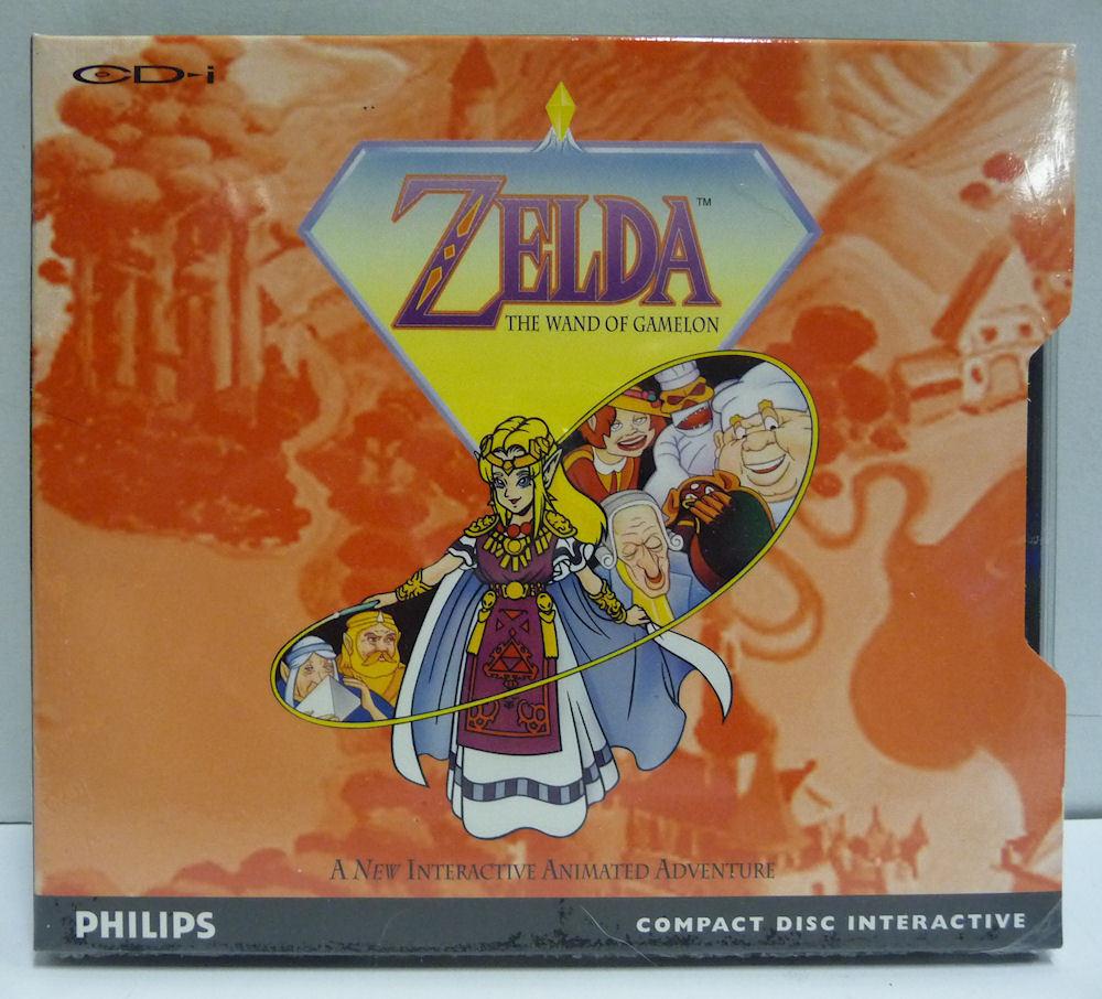Fourreau jeu Zelda CD-i version FR S-l16011