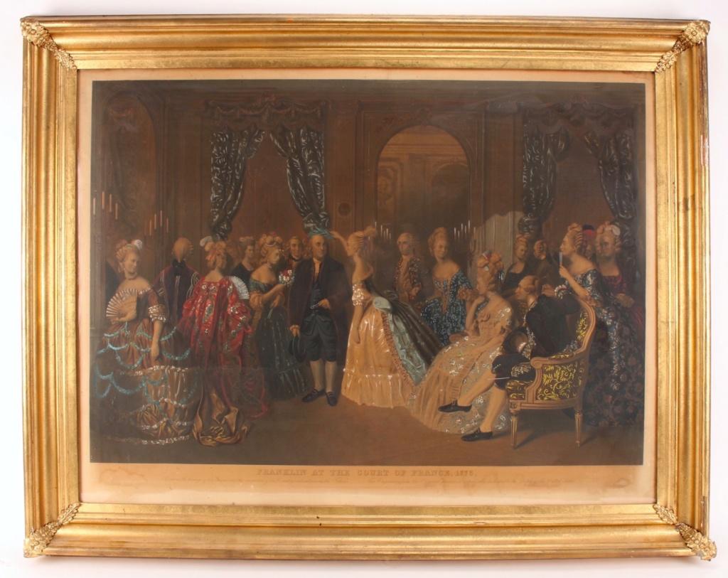 A vendre: tableaux Marie-Antoinette, Versailles et XVIIIe siècle - Page 3 217_210