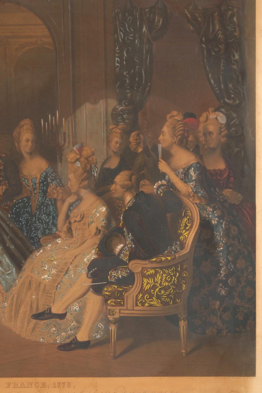 A vendre: tableaux Marie-Antoinette, Versailles et XVIIIe siècle - Page 3 217_410