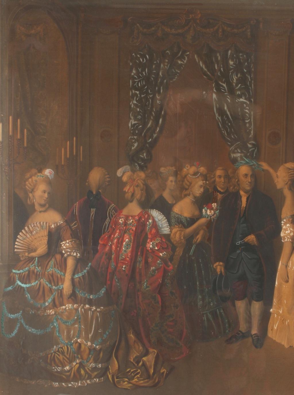 A vendre: tableaux Marie-Antoinette, Versailles et XVIIIe siècle - Page 3 217_610