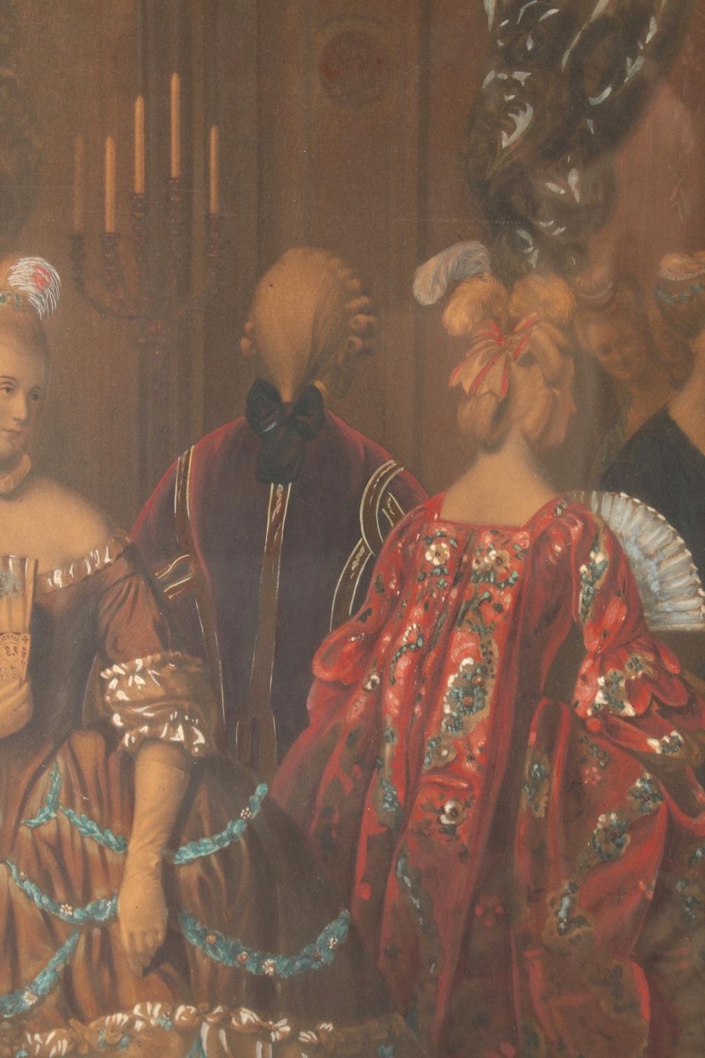 A vendre: tableaux Marie-Antoinette, Versailles et XVIIIe siècle - Page 3 217_810