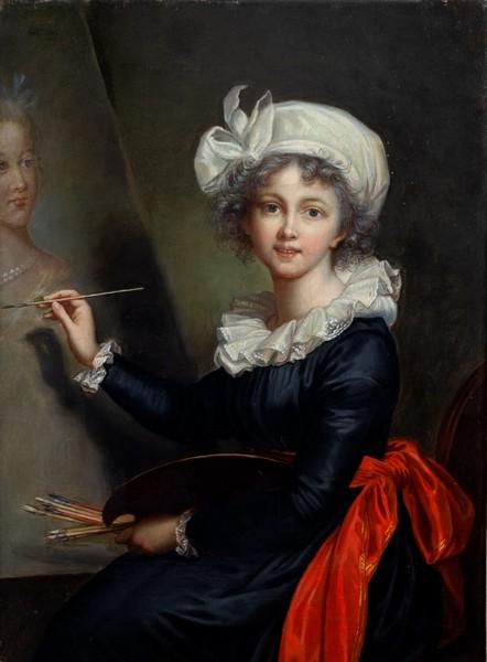 Elisabeth Vigée Lebrun, l'autoportait de 1790, Marie Antoinette et la Révolution 4315_010