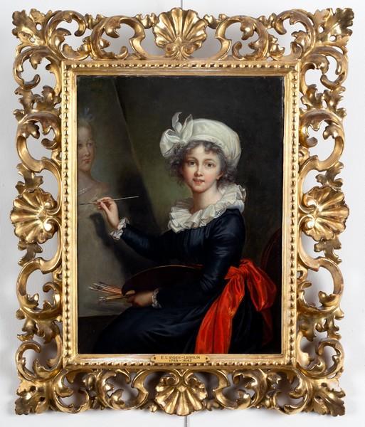 Elisabeth Vigée Lebrun, l'autoportait de 1790, Marie Antoinette et la Révolution 4316_010