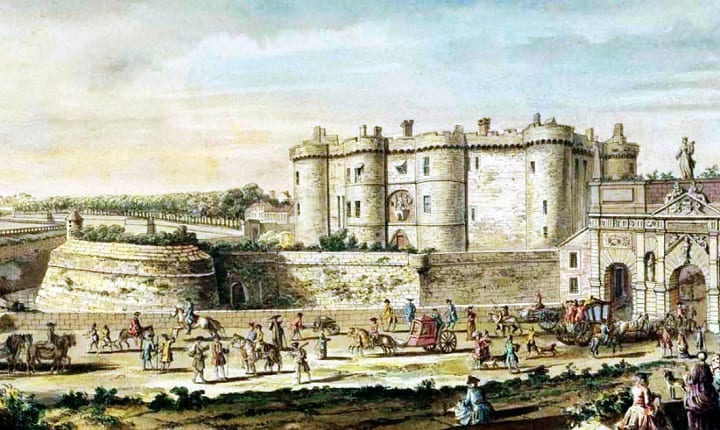 Le Paris de Marie Antoinette: vues et descriptions - Page 2 Bastil10