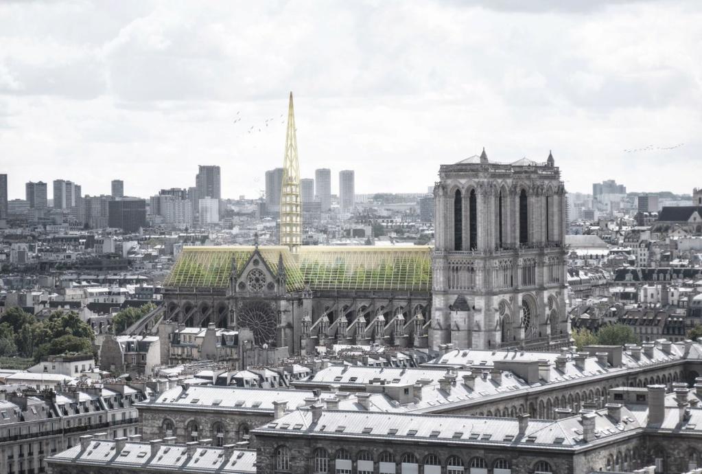Terrible incendie de Notre Dame de Paris le 15 Avril 2019 au soir - Page 3 D45lry10