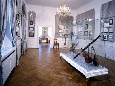 La villa Bertramka, Maison Mozart Duskov13
