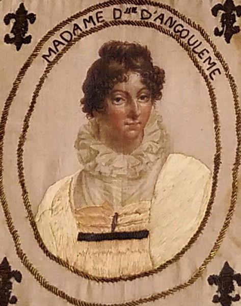 Etonnant portrait de la Duchesse d'Angoulême French12