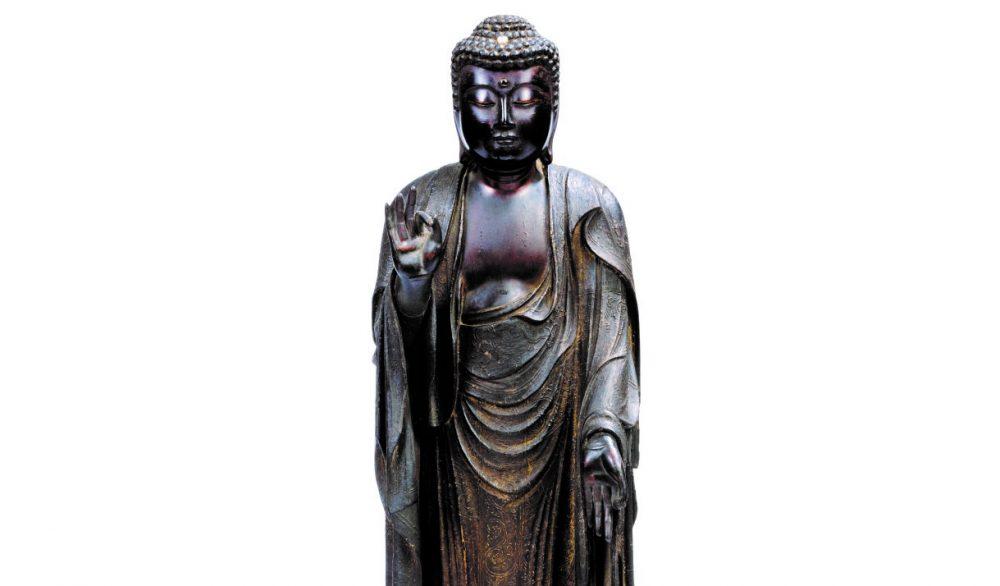 Chinoiseries et autres japonaiseries dans le marché de l'art Statue10