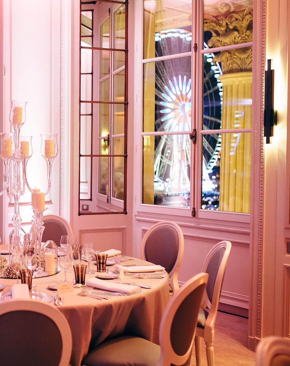 L'hôtel du Plessis-Bellière et l'hôtel l'hôtel Cartier Table-10