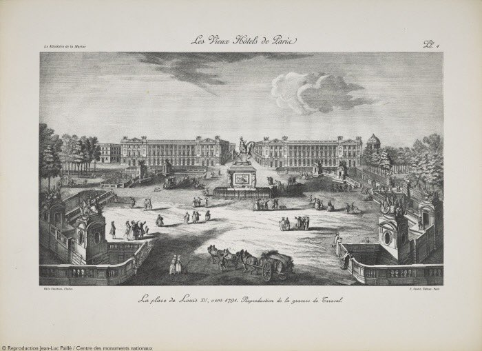 Place de la concorde, Place Louis XV... et Louis XVI? - Page 3 Zducz10