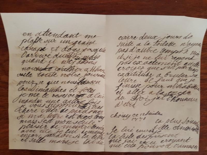 Correspondance entre Marie-Antoinette et sa mère  Zzz110