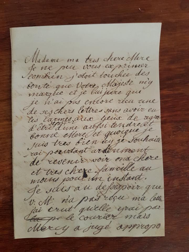 Correspondance entre Marie-Antoinette et sa mère  Zzz13