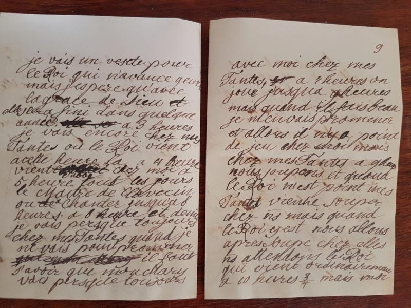 Correspondance entre Marie-Antoinette et sa mère  Zzz210