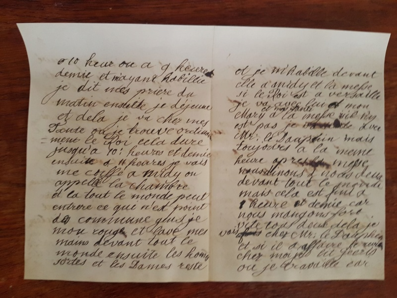 Correspondance entre Marie-Antoinette et sa mère  Zzz310