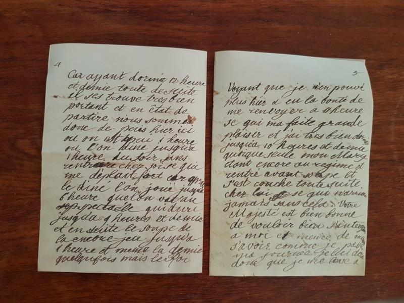 Correspondance entre Marie-Antoinette et sa mère  Zzz410