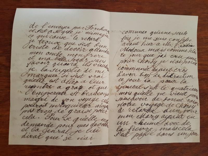 Correspondance entre Marie-Antoinette et sa mère  Zzz510