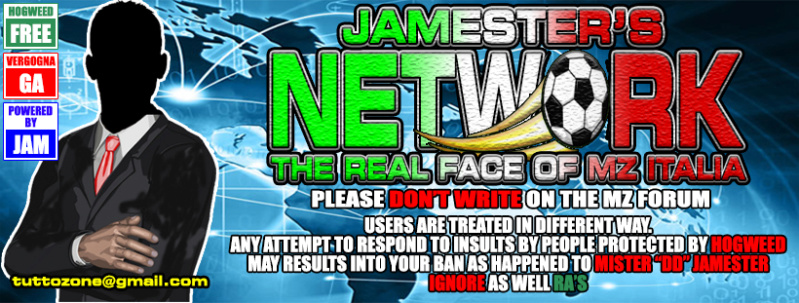 Jamester's Network - The Real Face of Managerzone Italia