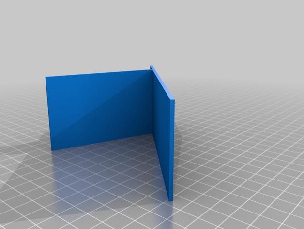 用3D 打印做出使用原力支撐書本的架子  332c4210