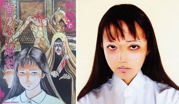 幾天前看到專門COS伊藤润二漫畫角色出名的Mamakiteru更新了 38742010