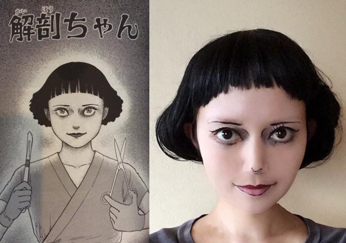 幾天前看到專門COS伊藤润二漫畫角色出名的Mamakiteru更新了 38781010