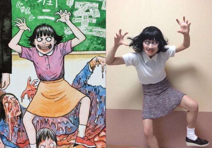 幾天前看到專門COS伊藤润二漫畫角色出名的Mamakiteru更新了 38823910