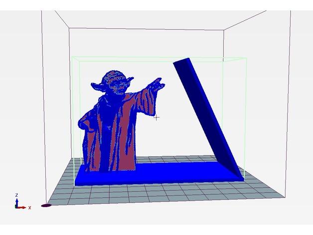 用3D 打印做出使用原力支撐書本的架子  80a9c810