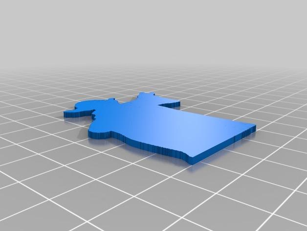 用3D 打印做出使用原力支撐書本的架子  91d43810