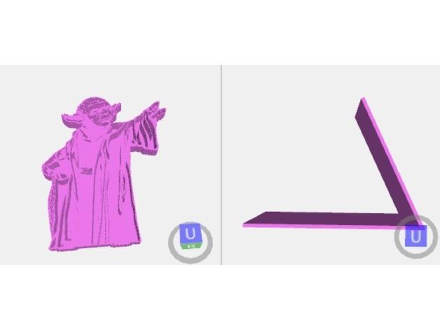 用3D 打印做出使用原力支撐書本的架子  97051010