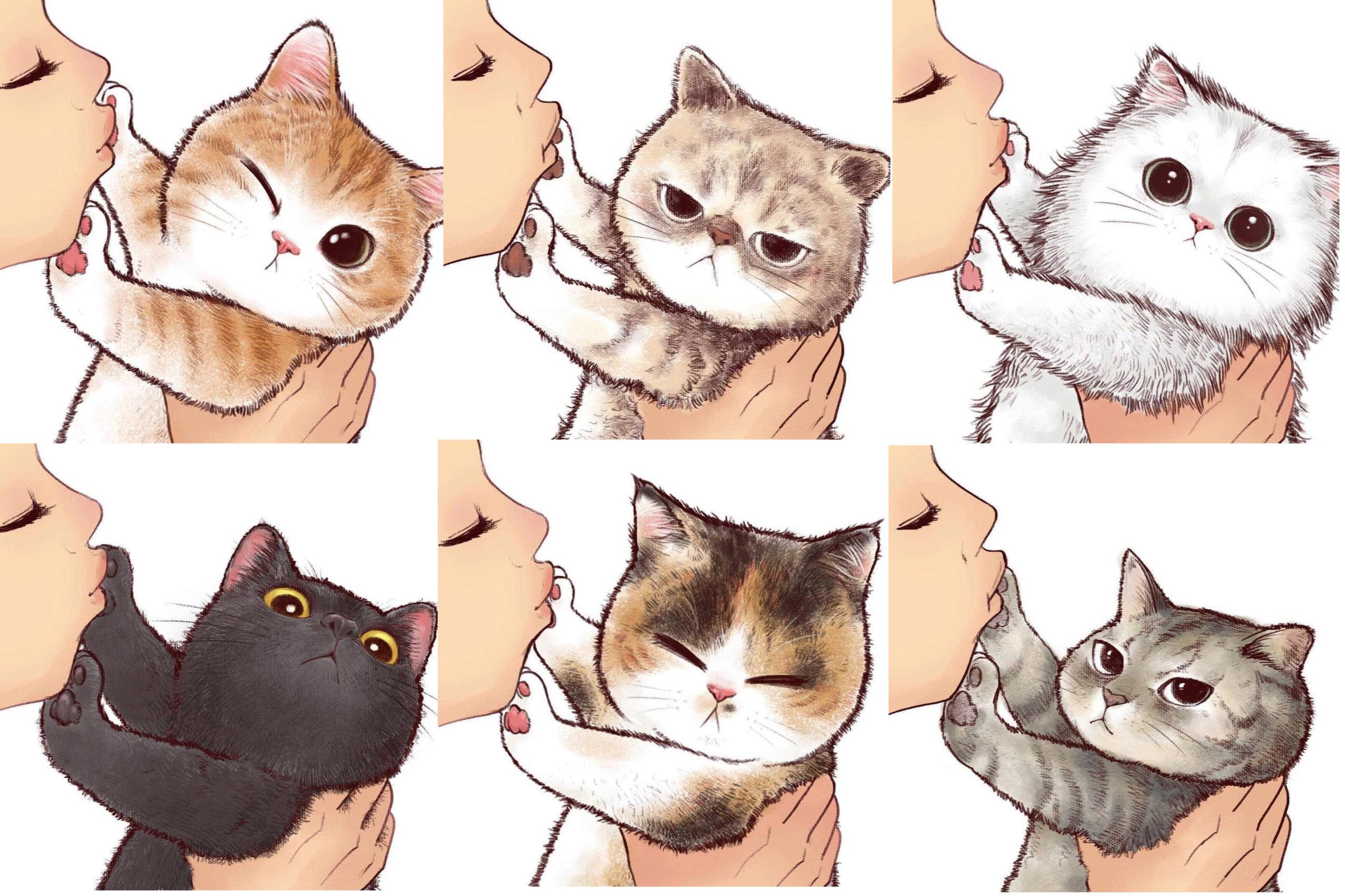 拒絕接吻的貓咪 Previe10