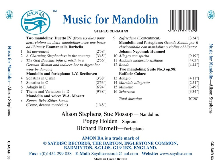 La Mandoline L'instrument Ultime Alison10