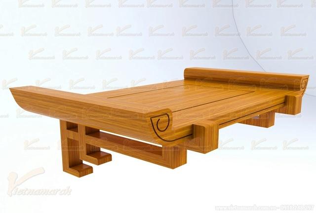 Sản phẩm cần bán: Mẫu bàn thờ đẹp đặt đóng theo kích thước lỗ ban chuẩn phong thủy Mau-ba13