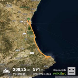 Velocidad maxima REAL (GPS) de nuestras Keeway. Share310