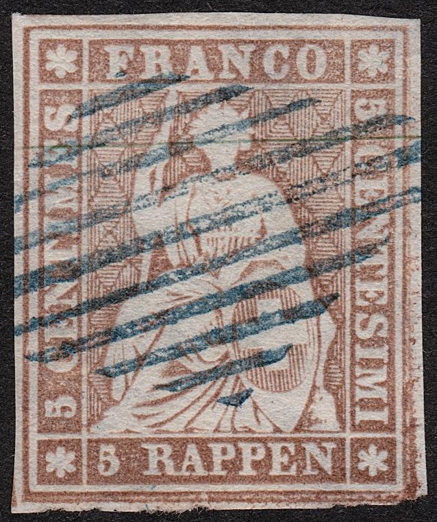 Zwei Einzelmarken 22, welche Ausgabe? Strube13