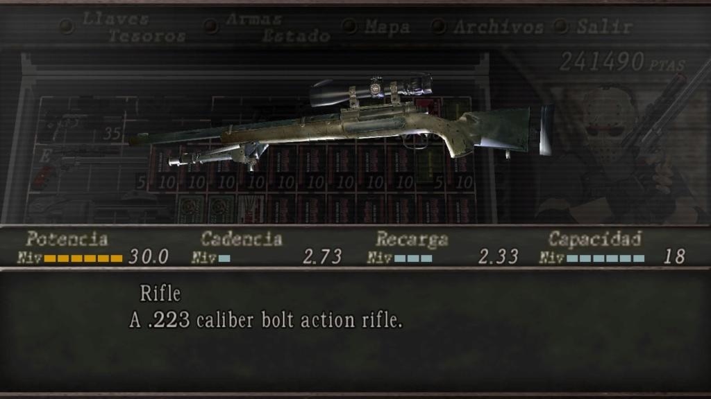 rifle m24 por rifle de cerrojo 112