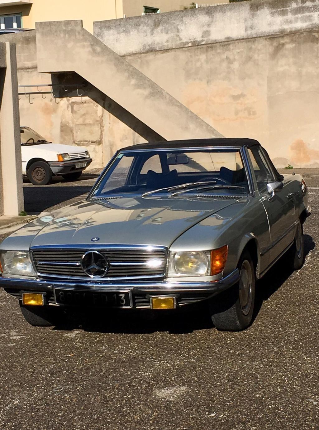 Vends ma 350 sl R107 1973 B560b210