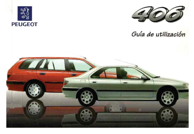 MANUAL USUARIO COLOR PDF (español): PEUGEOT 406 SERIE I (1996-1998) Caratu10