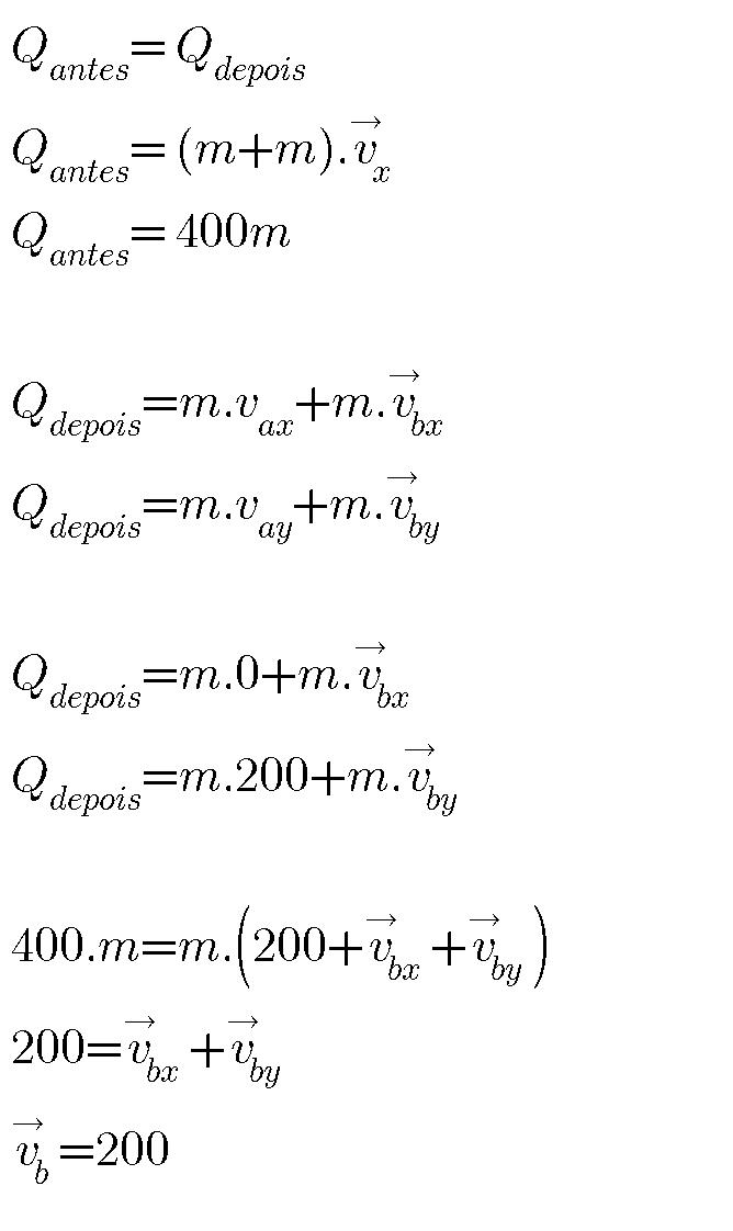 Quantidade de movimento Ii10