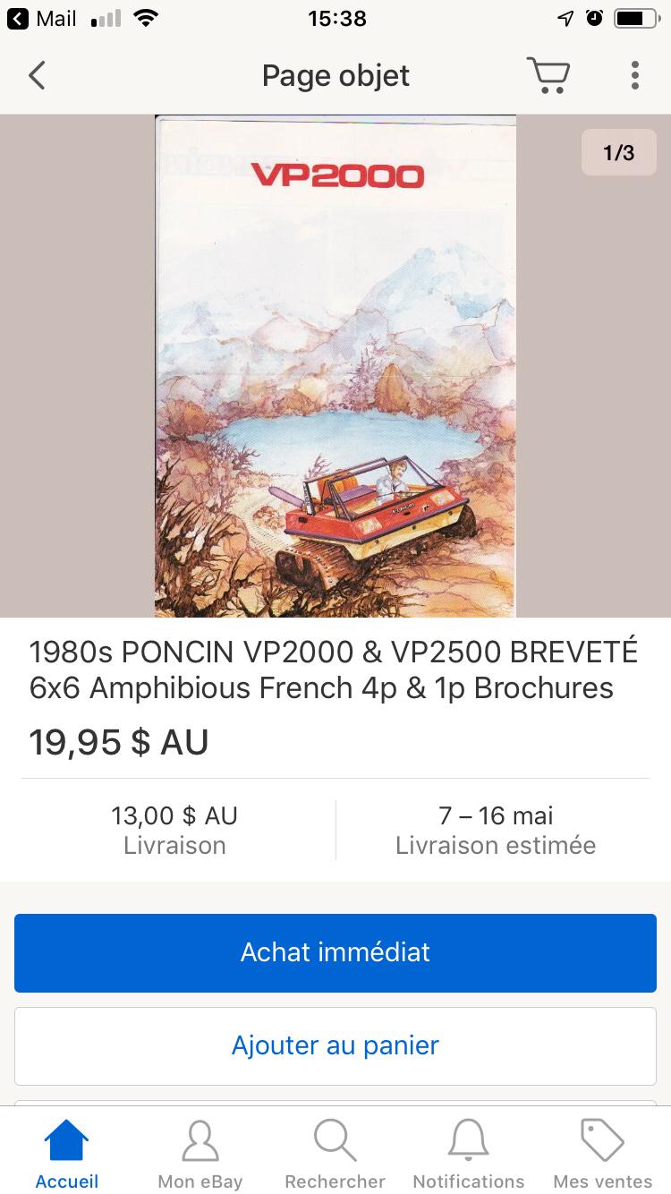 Nouvelle brochure à vendre 15561910