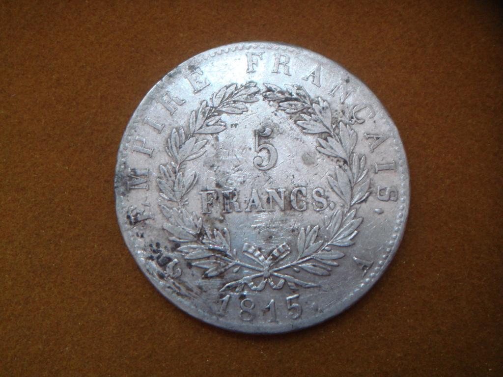 5 francs Paris 1815 Napoleón (Cent-Jours) Dsc00521