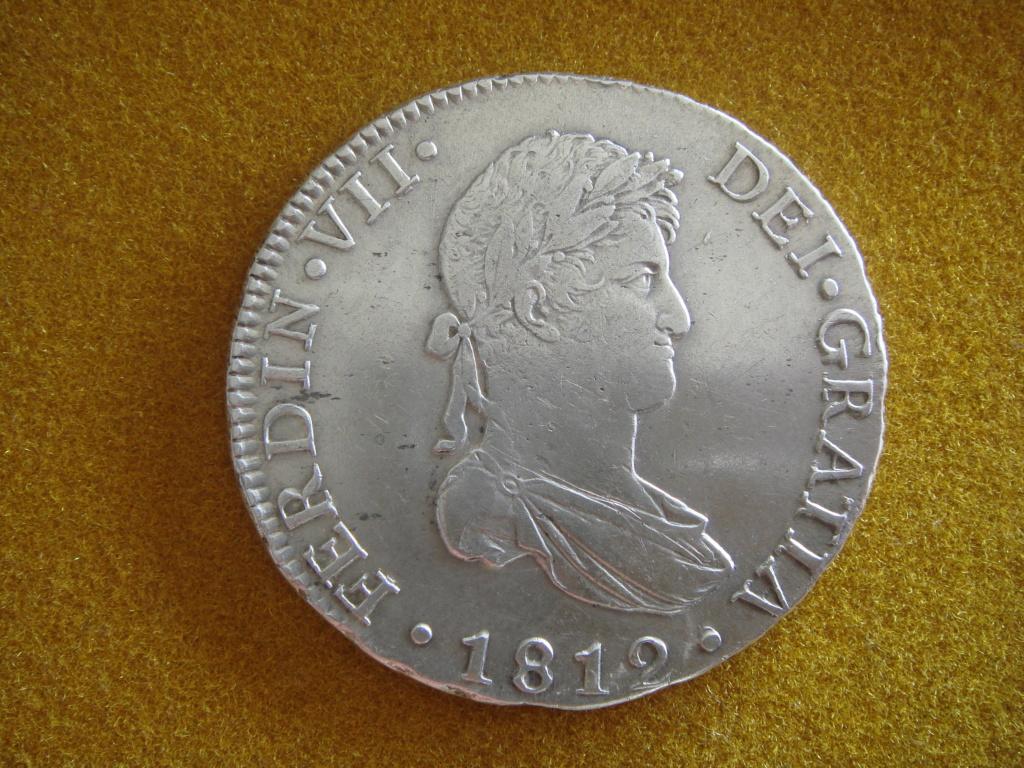 """8 reales 1812. Fernando VII. Cadiz. """"El duro de las Cortes"""" Dsc00528"""
