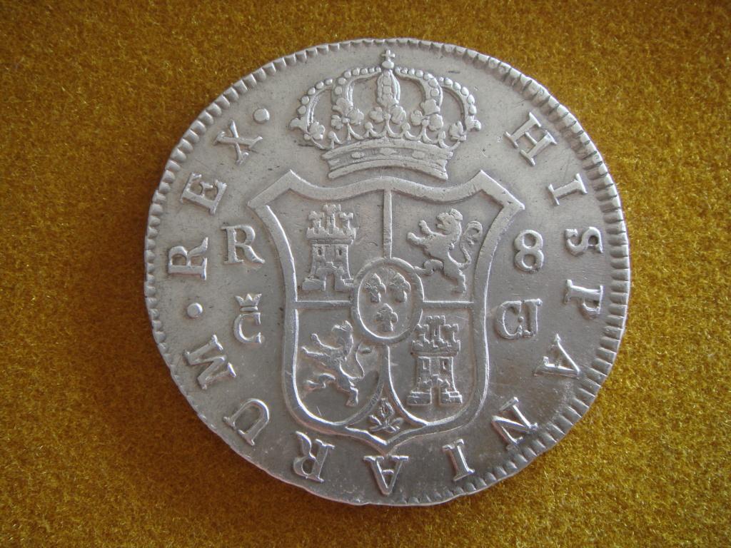 """8 reales 1812. Fernando VII. Cadiz. """"El duro de las Cortes"""" Dsc00529"""