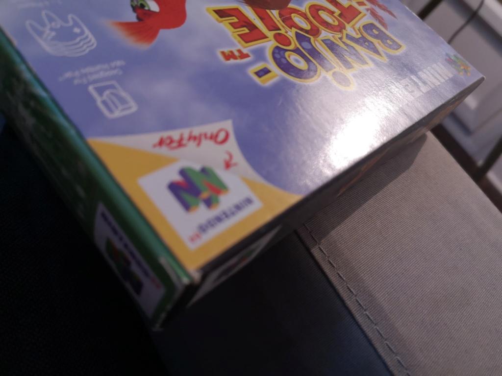 Doute sur authenticité de boite - Banjo-Tooie - Nintendo 64  Img_2096