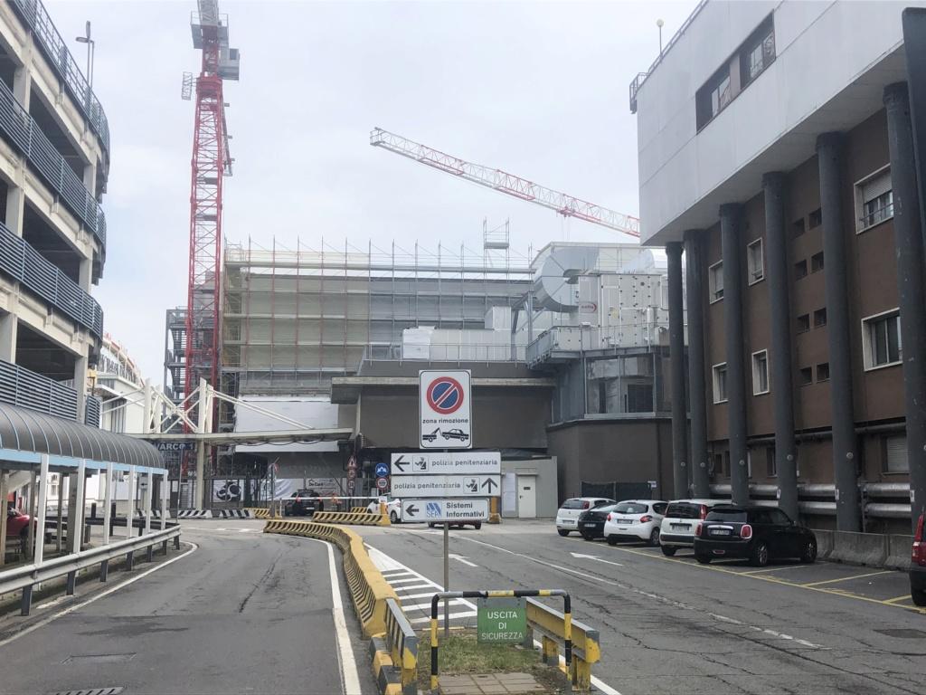 News Linate e lavori in corso. 022c6110