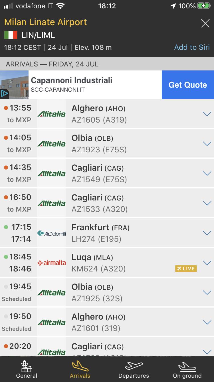 Il flop di Linate, Malpensa sempre più vincente. 149e3f10