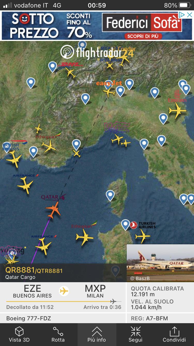 Qatar Airways e MXP  16919010