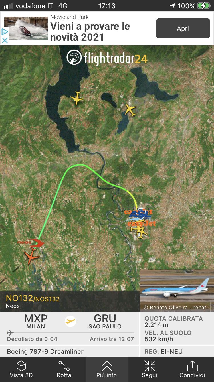 Latam riprende il volo sull'Italia (Milano)  175f5810