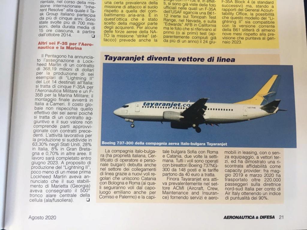 Tayaranjet 1 Agosto al via i primi voli nazionali  - Pagina 2 1d757310